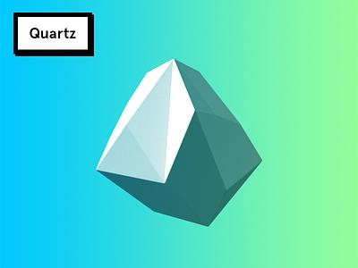 Quartz gradient quartz cgi 3d
