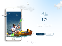 Daily UI - Water sports