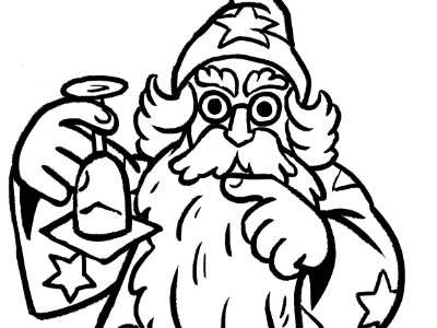 Special tricks kyles brushes rejected wizard magic inks illustration