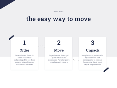 📦 The easy way to move ux uiux ui design landing page ui landing page design landing page website move