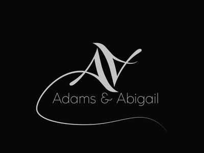Adams & Abigail word mark logo