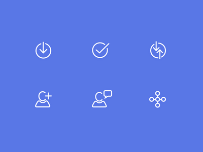 Activity Glyphs  activity glyphs icons vector stroke minimal interface stream