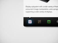 Widget - dashboard icons
