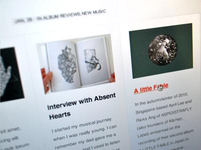 The Future Elements music blog magazine wordpress minimal