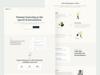 DecaSource Landing Page