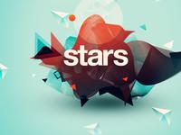 Stars album art illustration