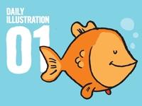 Daily Illustration 01 - Rumblefish