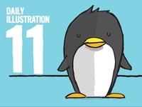 Daily Illustration 11 - Nice Tux