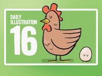 Daily Illustration 16 - Chooky