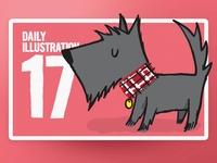 Daily Illustration 17 - Beam me up Scotty