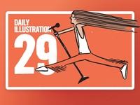 Daily Illustration 28 - The Prancer
