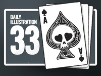 Daily Illustration 33 - Ace Of Spades
