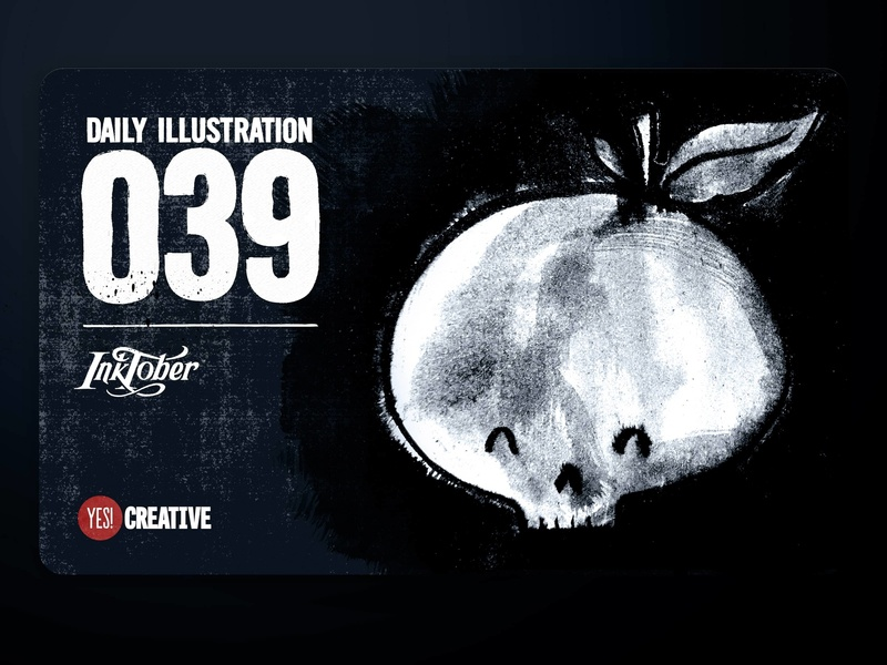 Daily Illustration 39 - Inktober Poisonous