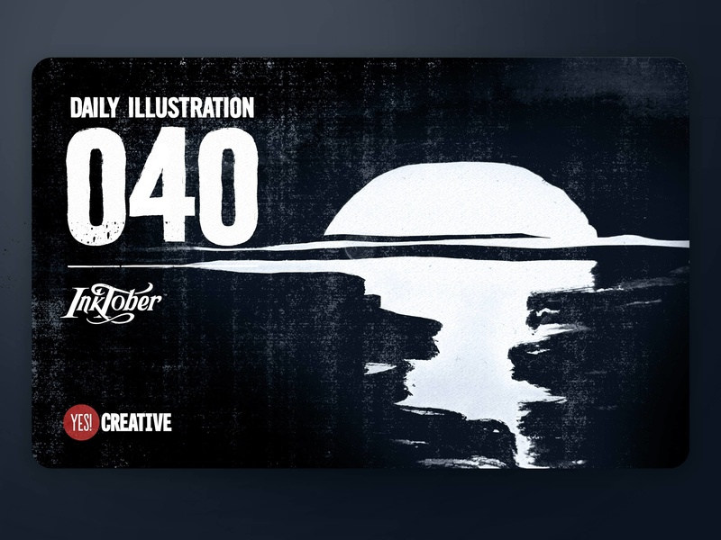 Daily Illustration 40 - Inktober Tranquil