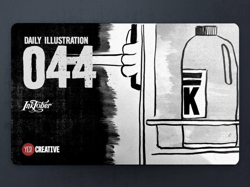 Daily Illustration 44 - Inktober Cruel