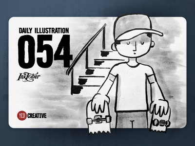 Daily Illustration 54 - Inktober No.20 Breakable. breakable process inktober2018 inktober ink illustrator illustration happy handdrawn habit digitalpainting dailychallenge creative brushpen artwork artdaily