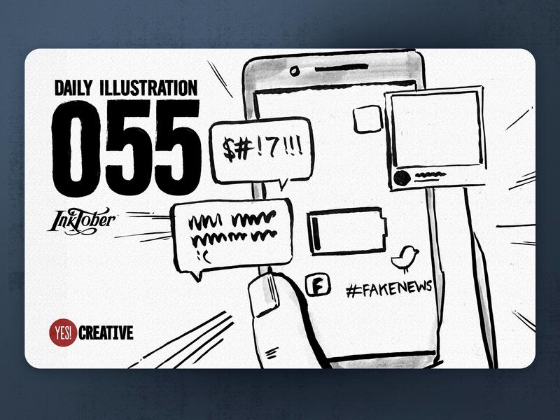 Daily Illustration 55 - Inktober No.21 Drain.