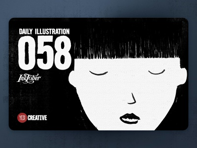 Daily Illustration 58 - Inktober No.24 Chop. chop process inktober2018 inktober ink illustrator illustration happy handdrawn habit digitalpainting dailychallenge creative brushpen artwork artdaily