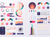 Infographic elements project