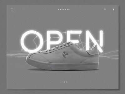 Sneakers presentation