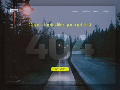 008 Ui Design 404 Page