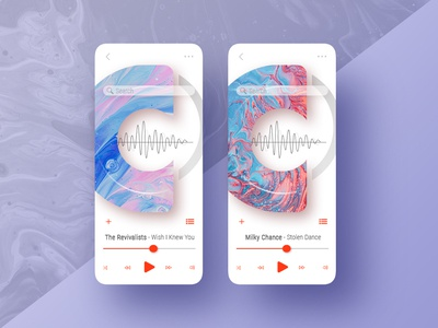 009 Ui Design Music Player