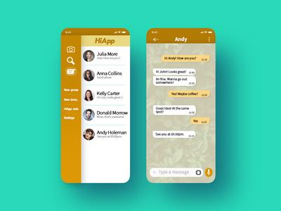 013 Ui Design Direct Messaging