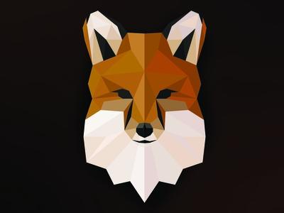 Low Poly Art Fox