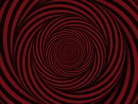 Trippy optical illusion pattern