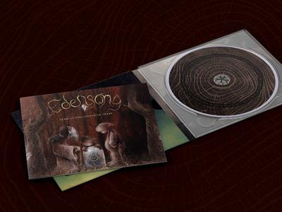 Edensong CD packaging packaging