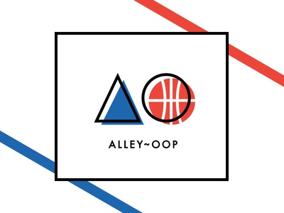 Alley Oop illustration typography vector