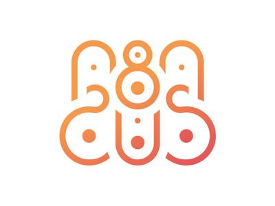 Abacus illustrator geometric logo illustration vector