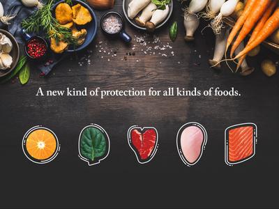 Cambridge Crops Hero branding food vector illustration