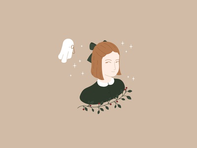 Girl and ghost