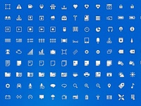 Iconset - free psd