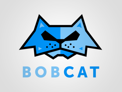 Bobcat Logo vector bobcat cat logo