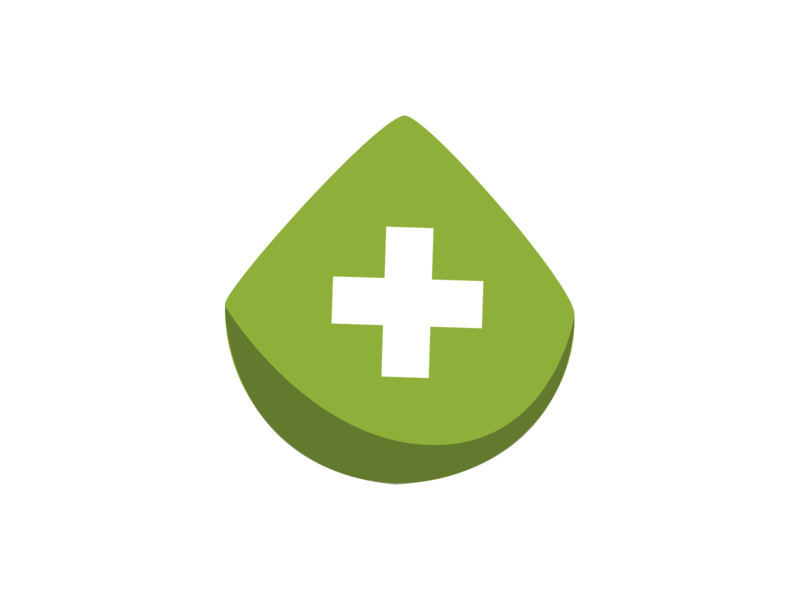 Medical Plants logo plants medical app app medical icon