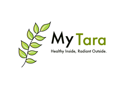 Vegan cosmetics company logo