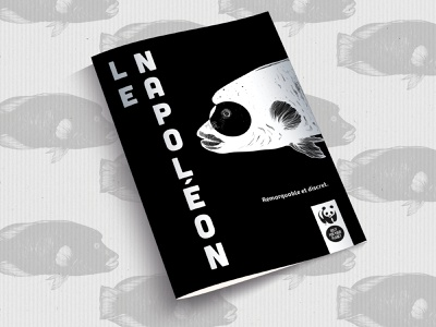 Cut-Out WWF Brochure Design Project black and white inverted do it for your planet save the earth save the planet animals logo wwf animals fish illustration fish logo drawing napoleon fish napoléon adobe illustrator vector illustrator design illustration brochure design ideas wwf brochure design