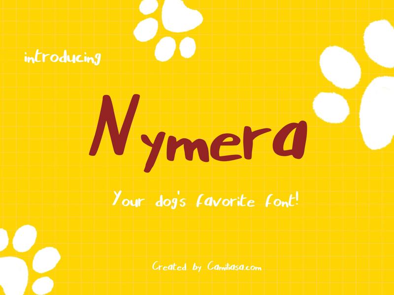 Nymera adobe type graphic designer marker script handwriting nymera custom fonts font