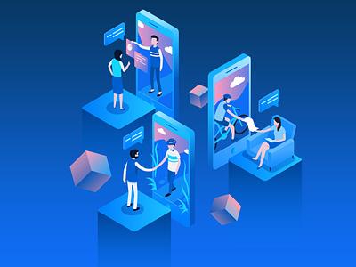 Haoxin Slide Page web illustration