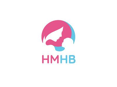 Healthy Moms Healthy Babies pregnancy logo design healthy branding design branding agency brand identity brand design branding brand logos baby pregnant mom logo
