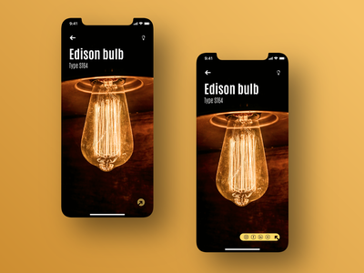 Social Share - Daily UI #010 interface uxui behance creative app design user interface digital ui design design digitaldesign light edison bulb share social ui daily ui dailyui