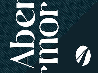 Abermor Logo branding design logo