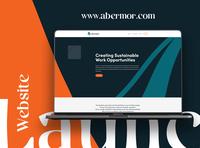 Abermor Website website branding web design website design