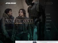 Rogue one landingpage
