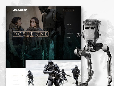 Star Wars Rogue One Website