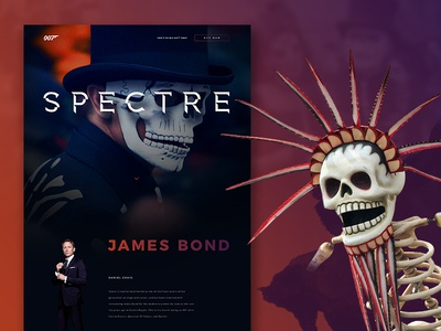 007 Spectre Website