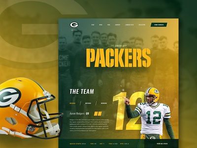 Green Bay Packers Website