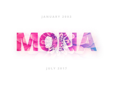 In Memory of Mona